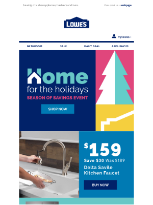 Lowes Canada - Gear up for great savings with big Black Friday deals.