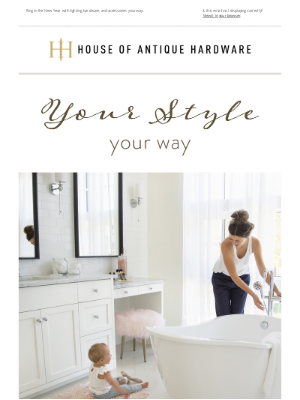 House of Antique Hardware - Save 20% On Any Style