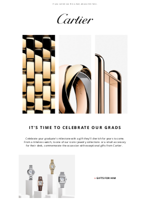 Cartier - To the Class of 2021…