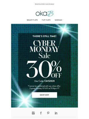 Oka-B - Cyber Monday Deal Extended!