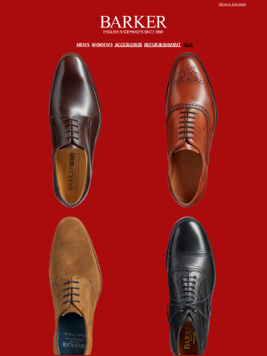 Barker Shoes (UK) - New Sale Additions | Shop By Style | Up To 50% Off Selected Styles | Clearpay: Buy Now, Pay Later