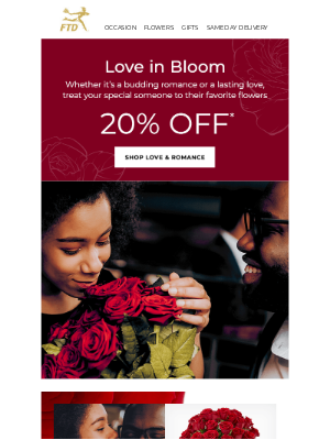 Show Your Love With Flowers From FTD