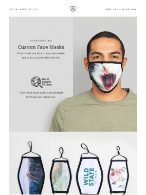 Social Print Studio - New → Introducing Custom Photo Mask