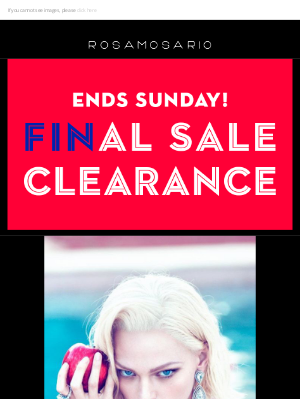 Rosamosario - SUMMER CLEARANCE ! ENJOY A FINAL 50% OFF AT THE CHECK OUT ... VALID TILL 31ST AUGUST