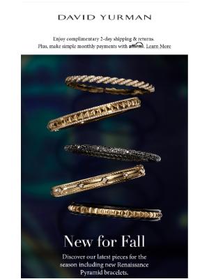 David Yurman - New Fall Designs Are Here