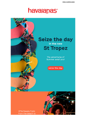 Havaianas - Happy Friday! Seize the Day