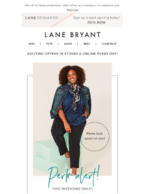Lane Bryant - Members-Only Sale (it's ON!)