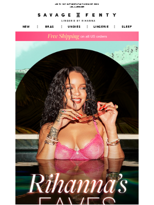 Rihanna's Picked Her Faves…