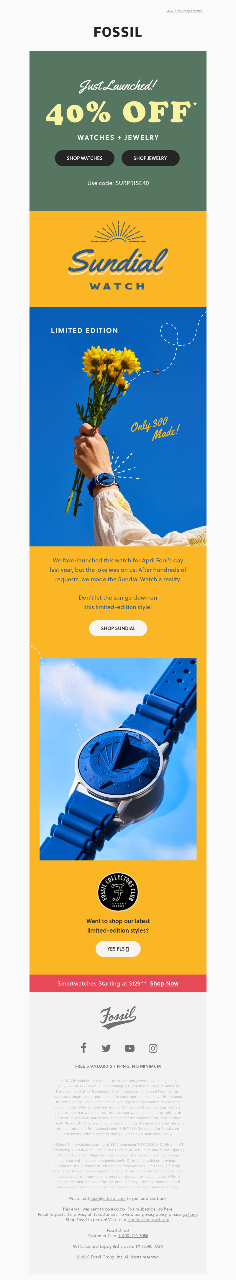 Fossil - You Requested It, We Made It Real 😉☀️