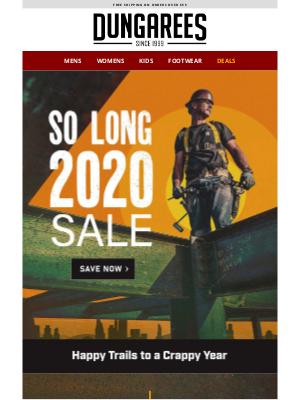 Dungarees - New Sale Just Dropped: So Long 2020