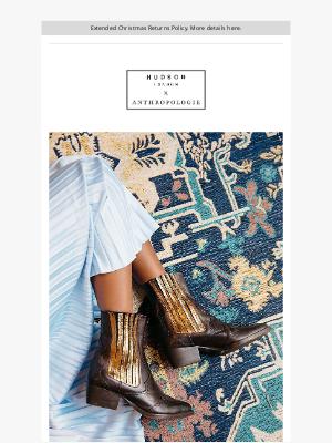 Hudson Shoes - Hudson x Anthropologie | Sienna boot