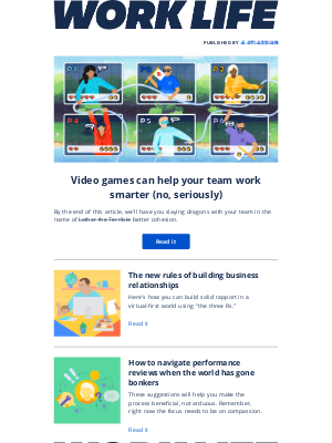 Atlassian - When all else fails, slay dragons together
