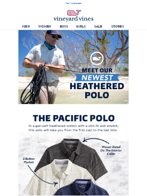 Heather's Favorite New Polo