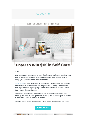 Wynd - 🥰 Enter to Win $1K in Self-Care Prizes🏆