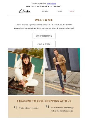 Clarks Shoes - Welcome to Clarks!