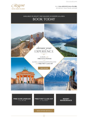 Oceania Cruises - Return to the Sea in the Utmost Luxury