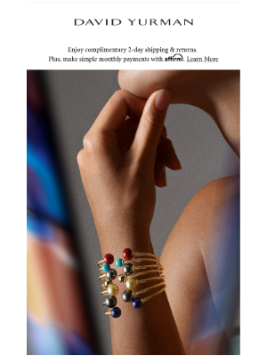 David Yurman - Simple Sophistication: The Solari Collection