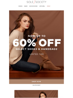 Sole Society - Up to 60% Sole Society Shoes & Bags at DSW.com!