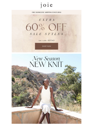 Joie - The Fall Knit Selection + 60% Off Sale