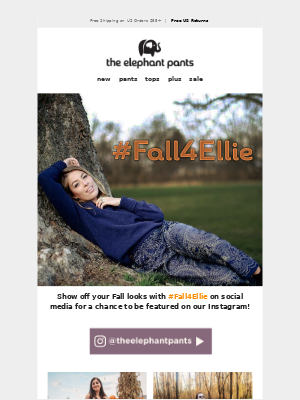 Everyone's FALLing for Ellie 🍁🐘🍁