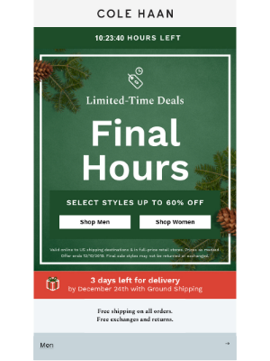 Only hours left to shop this limited-time deal