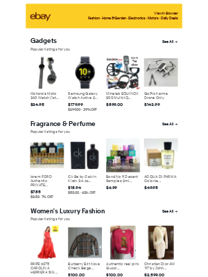 Gadgets & Fragrance & Perfume - shopping ideas for you to consider 💡