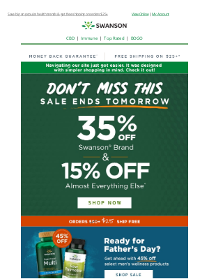 Swanson Health Products - ✭Expires tomorrow✭ Save up to 35% on your order