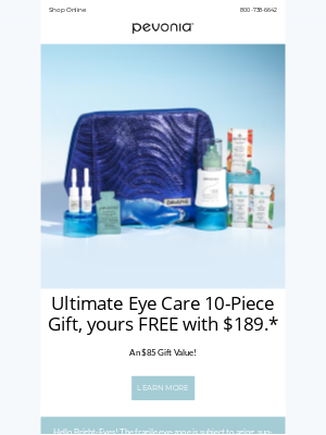 Pevonia Botanica - 👁️ Alluring Eyes $85 Free Gift!