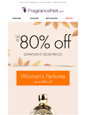 FragranceNet - Up to 80% OFF | Discover the Beauty of Savings™