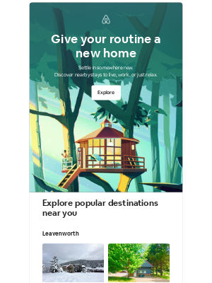 Airbnb - Harold, turn the everyday into a getaway