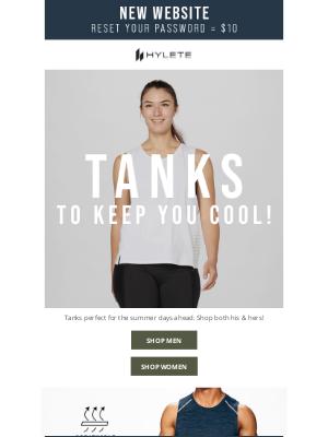 HYLETE LLC - Tanks To Keep You Cool