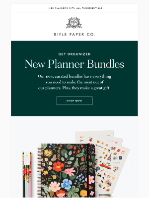 Save with Planner Bundles