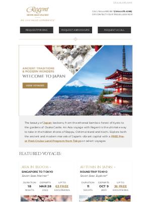 Regent Seven Seas Cruises - Embark on a Cultural Exploration of Japan