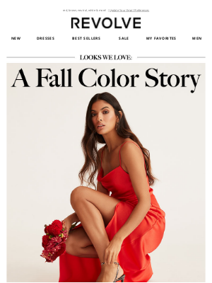 REVOLVE - the ONLY colors to wear this fall