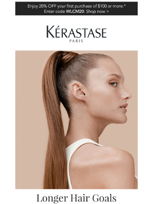 Kérastase - Meet The Collection That Will Get You The Healthy, Long Hair That You Want...