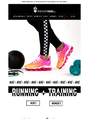Work It Out. --> Shop Nike Running & Training!