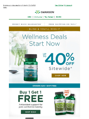 Swanson Health Products - ✰ Open promptly—because you simply can't ignore what's inside: up to 40% off