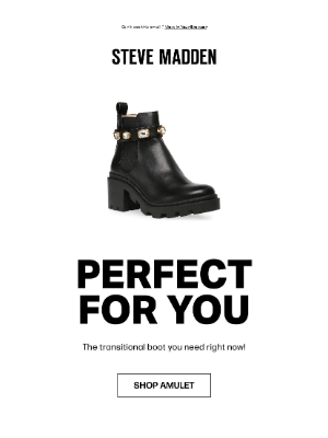 Steve Madden - The best selling bootie that's selling out fast