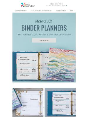 Erin Condren - Need a flexible organizer that fits your schedule?