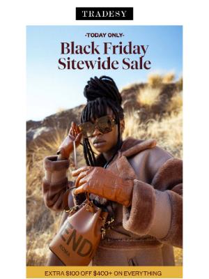 Tradesy - BLACK FRIDAY SITEWIDE SALE