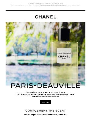 PARIS-DEAUVILLE, a sparkling fragrance