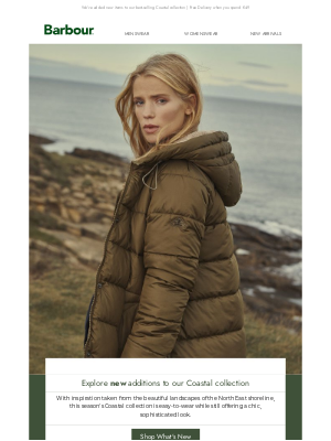 Barbour (UK) - A colourful and versatile autumn wardrobe | Coastal