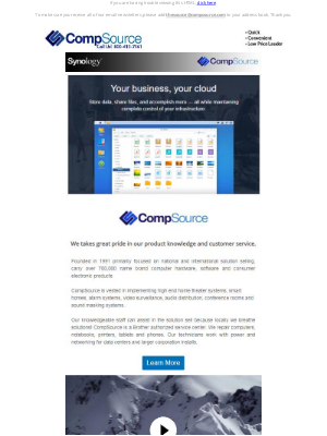 CompSource - Your Business, Your Cloud