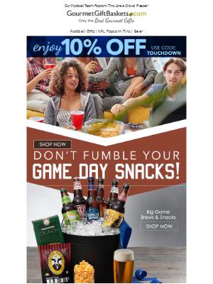 GourmetGiftBaskets - Are You Ready For Some Football ?