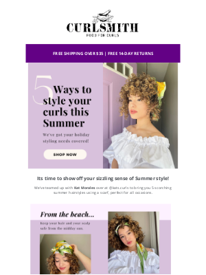 CURLSMITH - ☀️ Get your summer style needs sorted!