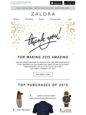 Thank YOU for making 2015 amazing!
