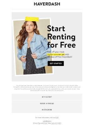 Haverdash - Unlock your FREE month of rental