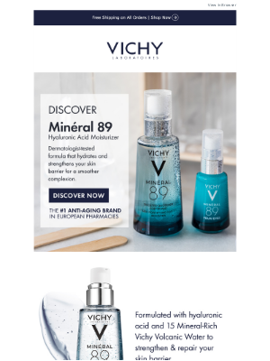 Vichy - Strengthen and Repair Your Skin Barrier