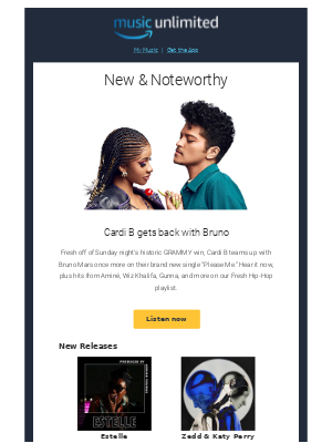 Amazon Music Unlimited: What's new this week