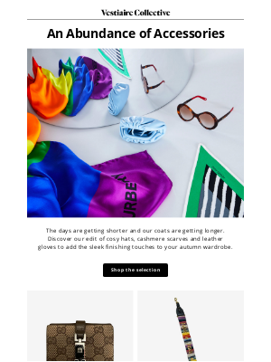 Vestiaire Collective - Autumn Accessories by Gucci, Dior, Prada, Cartier...